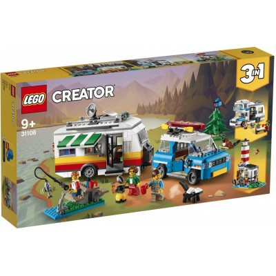 LEGO® Creator 3in1 Caravan Family Holiday 31108