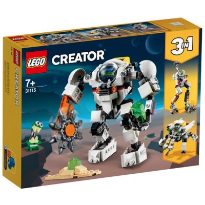 LEGO® Creator 3in1 Space Mining Mech 31115