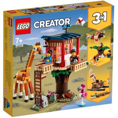 LEGO® Creator 3in1 Safari Wildlife Tree House 31116