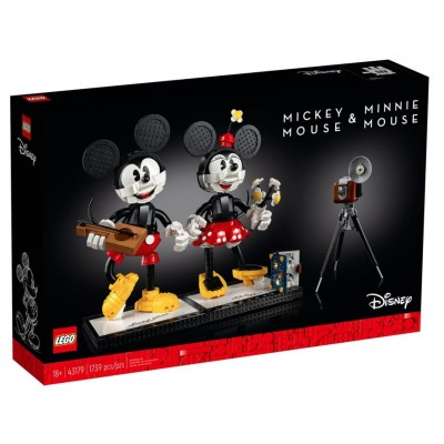 LEGO® Disney Mickey Mouse & Minnie Mouse Buildable Characters 43179
