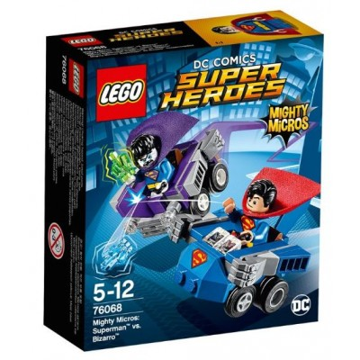 LEGO® DC Super Heroes™ Mighty Micros: Superman™ vs. Bizarro™ 76068