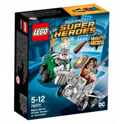 LEGO® DC Super Heroes™ Mighty Micros: Wonder Woman™ vs. Doomsday™ 76070
