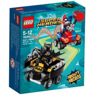 LEGO® DC Super Heroes™ Mighty Micros: Batman™ vs. Harley Quinn™ 76092