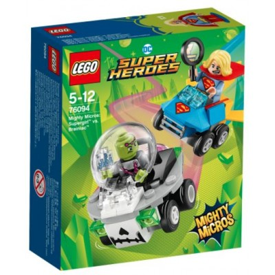 LEGO® DC Super Heroes™ Mighty Micros: Supergirl™ vs. Brainiac™ 76094