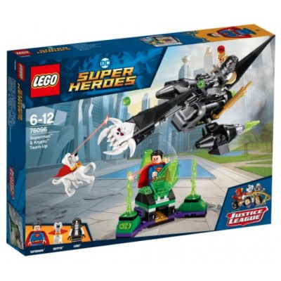 LEGO® DC Super Heroes™ Superman™ & Krypto™ Team-Up 76096