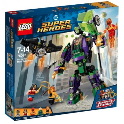 LEGO® DC Super Heroes™ Lex Luthor™ Mech Takedown 76097