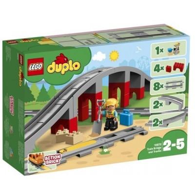 LEGO® DUPLO® Train Bridge and Tracks 10872