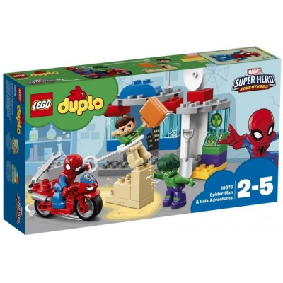 LEGO® DUPLO®  Spider-Man & Hulk Adventures 10876