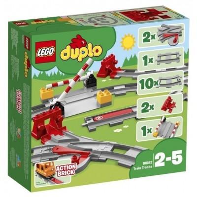 LEGO® DUPLO® Train Tracks 10882
