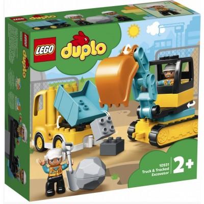 LEGO® DUPLO® Truck & Tracked Excavator 10931