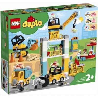 LEGO® DUPLO® Construction Tower Crane & Construction 10933