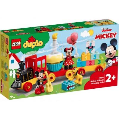 LEGO® DUPLO® Disney Mickey & Minnie Birthday Train 10941