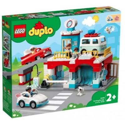 LEGO® DUPLO® Car Park and Car Wash 10948