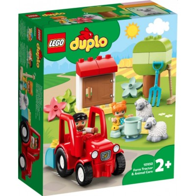 LEGO® DUPLO® Town Farm Tractor & Animal Care 10950