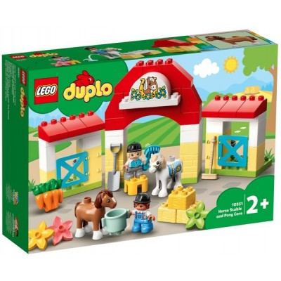 LEGO® DUPLO® Town Horse Stable and Pony Care 10951