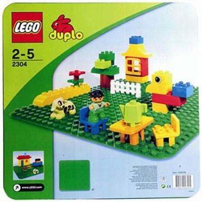 LEGO® DUPLO®  Green Baseplate 2304