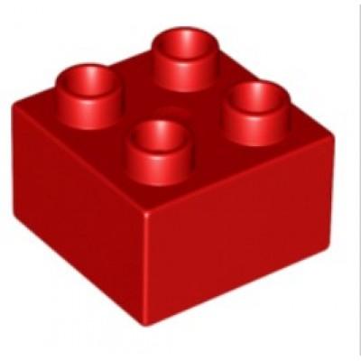 2 x 2 DUPLO Brick Red