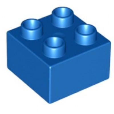 2 x 2 DUPLO Brick Blue