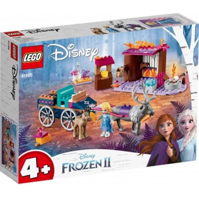 LEGO® Disney Elsa's Wagon Adventure 41166