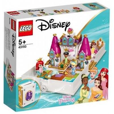 LEGO® Disney Ariel, Belle, Cinderella and Tiana's Storybook Adventures 43193