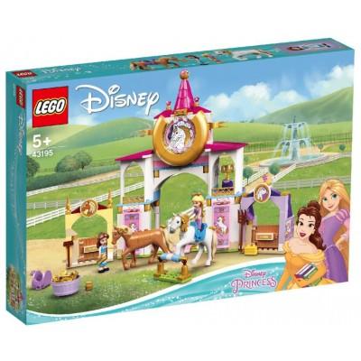 LEGO® Disney Belle and Rapunzel's Royal Stables 43195