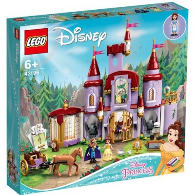 LEGO® Disney Belle and the Beast's Castle 43196