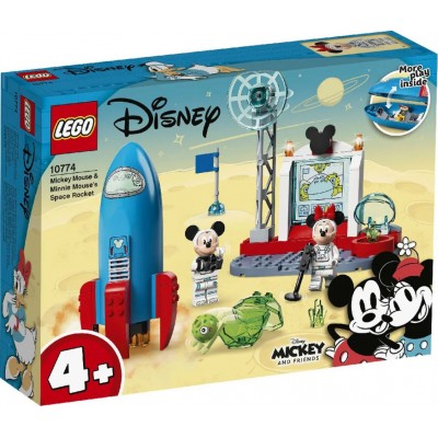 LEGO® Disney Mickey and Friends Mickey Mouse & Minnie Mouse's Space Rocket 10774