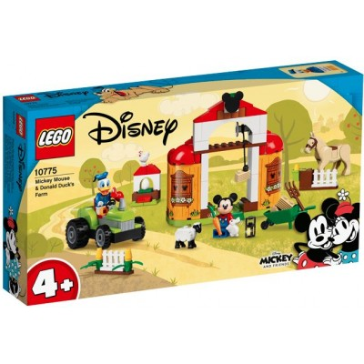 LEGO® Disney Mickey and Friends Mickey Mouse & Donald Duck's Farm 10775