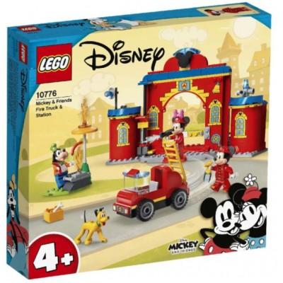 LEGO® Disney Mickey and Friends – Mickey & Friends fire engine & Station 10776