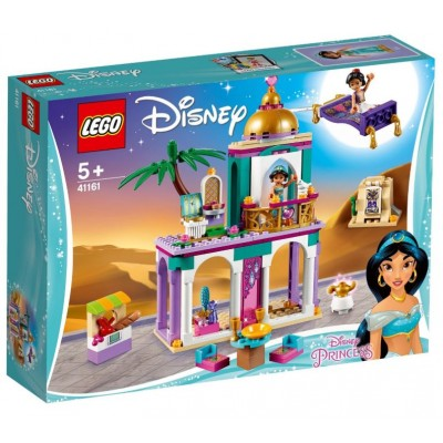 LEGO® Disney Aladdin and Jasmine's Palace Adventures 41161