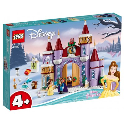LEGO® Disney Belle's Castle Winter Celebration 43180