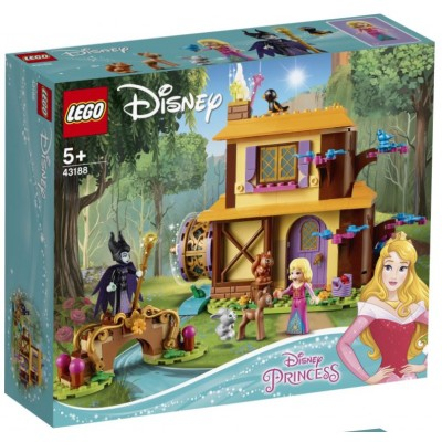 LEGO® Disney Aurora's Forest Cottage 43188