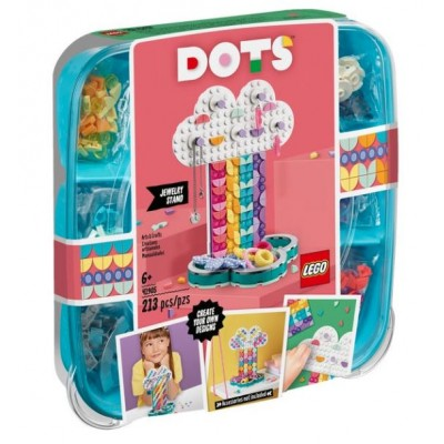 LEGO® DOTS™ Rainbow Jewelry Stand 41905