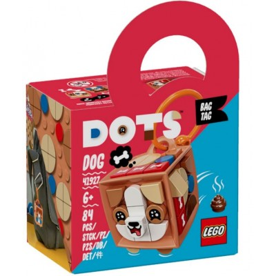 LEGO® DOTS Bag Tag Dog 41927