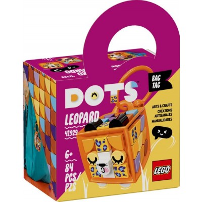 LEGO® DOTS Bag Tag Leopard 41929