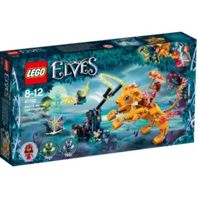 LEGO® Elves Azari & the Fire Lion Capture 41192