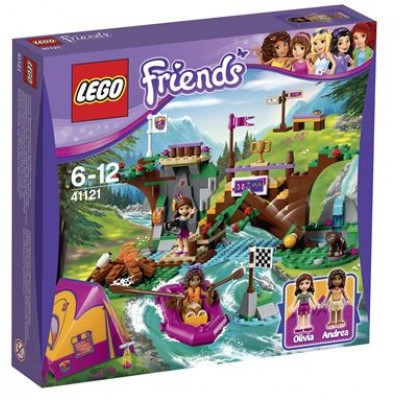 LEGO® Friends Adventure Camp Rafting 41121