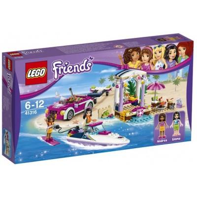 LEGO® Friends Andrea's Speedboat Transporter 41316
