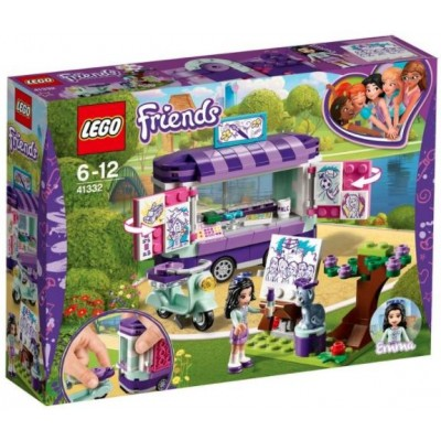 LEGO® Friends Emma's Art Stand 41332