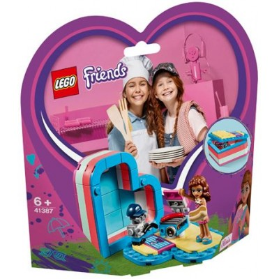 LEGO® Friends Olivia's Summer Heart Box 41387