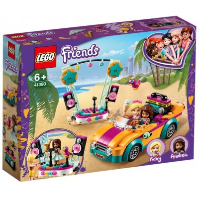 LEGO® Friends Andrea's Car & Stage 41390