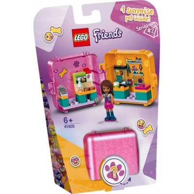 LEGO® Friends Andrea's Shopping Play Cube 41405
