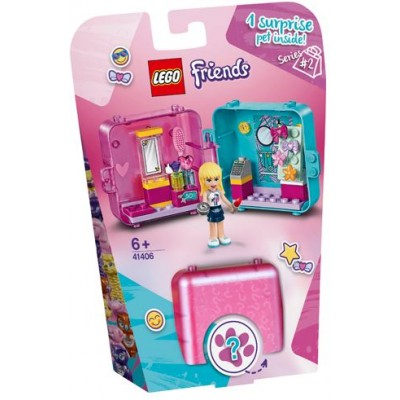 LEGO® Friends Stephanie's Shopping Play Cube 41406