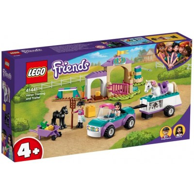 LEGO® Friends 4+ Horse Training and Trailer 41441
