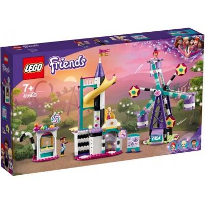LEGO® Friends Magical Funfair Ferris Wheel and Slide 41689