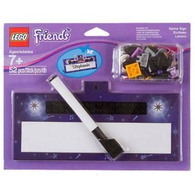 LEGO® Friends VIP Cardboard Name Plate