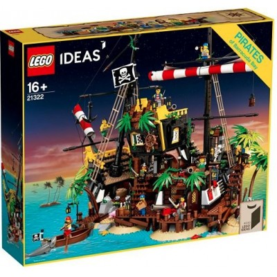 LEGO® Ideas Pirates of Barracuda Bay 21322
