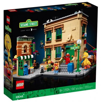 LEGO® Ideas 123 Sesame Street 21324