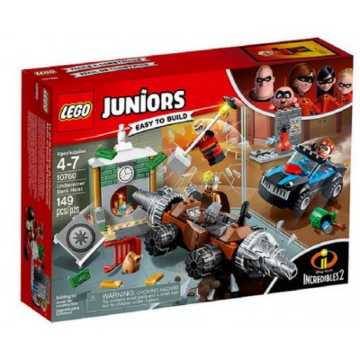 LEGO® Juniors The Incredibles Underminer Bank Heist 10760