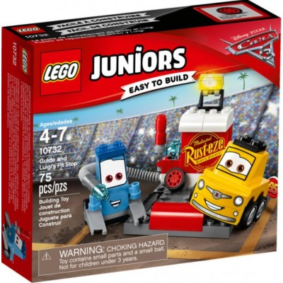 LEGO® Juniors Guido and Luigi's Pit Stop 10732